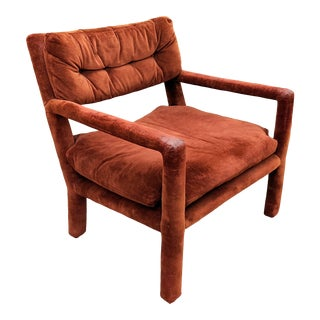 Milo Baughman for Directional Modern Parsons Style Lounge Chair For Sale