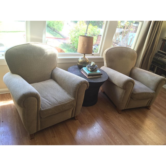 A. Rudin Club Chairs - A Pair - Image 4 of 5