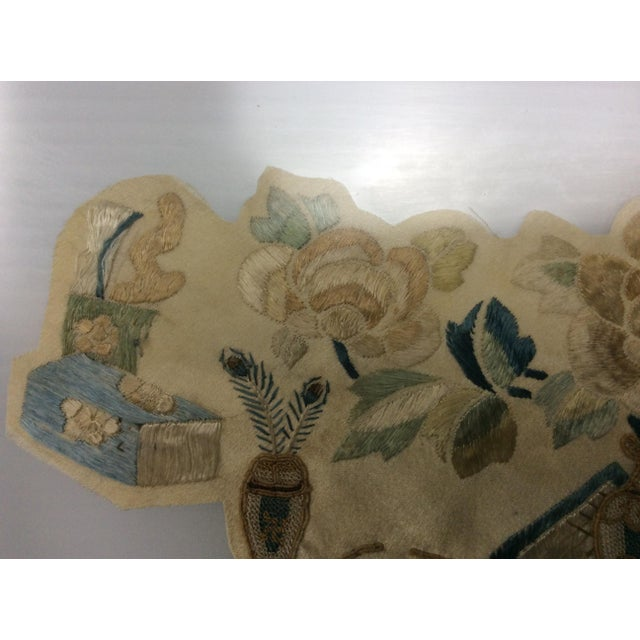 19th Century Chinese Framed Embroidery - A Pair For Sale In Los Angeles - Image 6 of 11