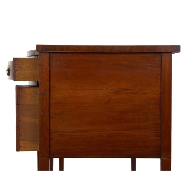 Metal Circa 1780 English George III Period Antique Mahogany Sideboard For Sale - Image 7 of 11