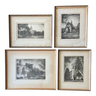 Baltimore Art Print Set/4 For Sale