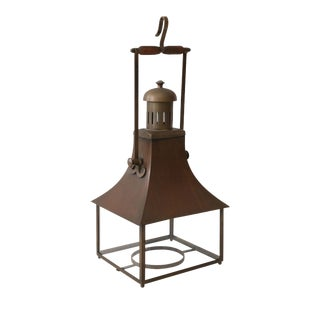 Six French Antique Tole Lanterns For Sale