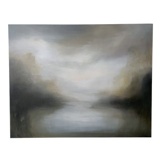 Modern River Bend Painting For Sale