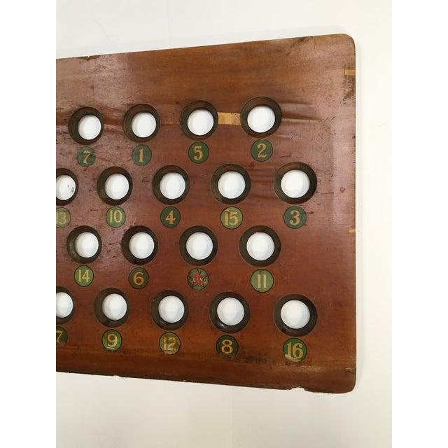 1938 Keeno Star Reversible Gaming Board - Image 10 of 10