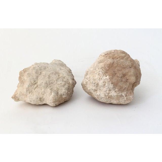 Quartz Crystal Geode - A Pair - Image 3 of 7