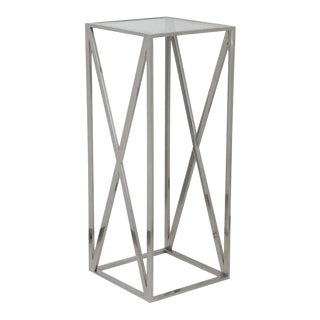 Contemporary Square Cross Pedestal For Sale
