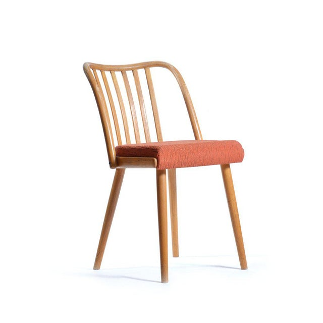 Mid-Century Modern Mid-Century Upholstered Chair by Antonin Suman for Ton, 1965 For Sale - Image 3 of 5
