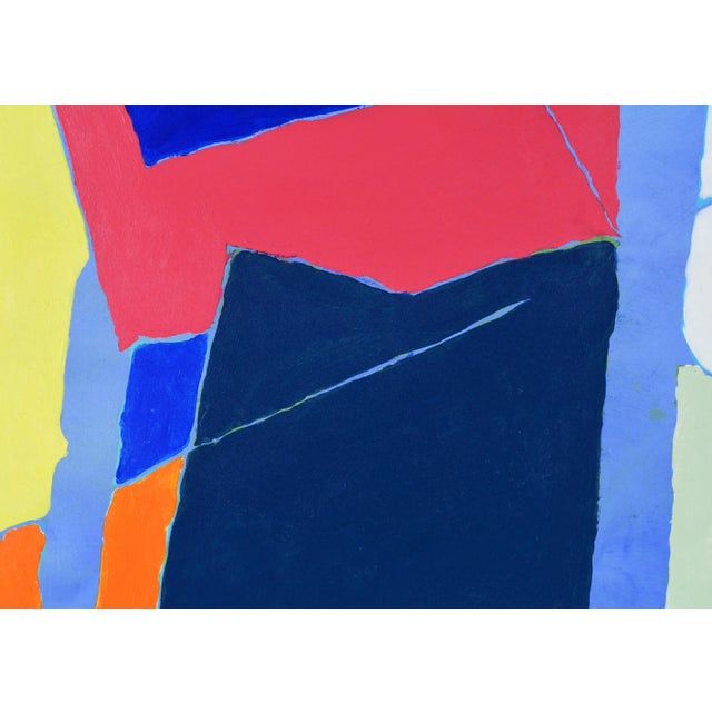 """Early 21st Century Abstract Original Painting, """"Composition"""" by Anders Hegelund - Image 7 of 11"""