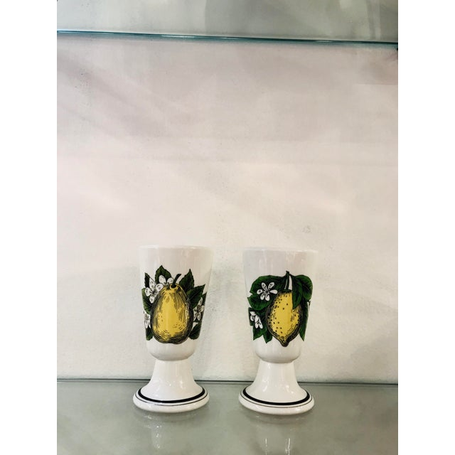 White Menton/Doyenne French Cups For Sale - Image 8 of 8