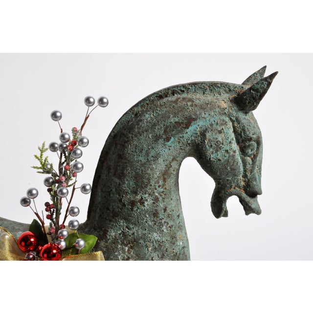 Gold Han Dynasty Style Horse For Sale - Image 8 of 13