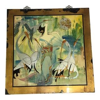 "Yunnan School ""Bird of Happiness"" Artwork For Sale"