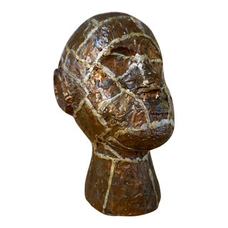 Figural Patchwork Bust