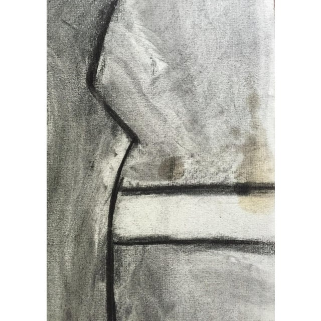 Figurative 1950s Charcoal Drawing Bay Area Artist Female Nude For Sale - Image 3 of 7
