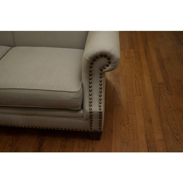 Tight Back Three Cushion Nailhead Trim Sofa - Image 5 of 7