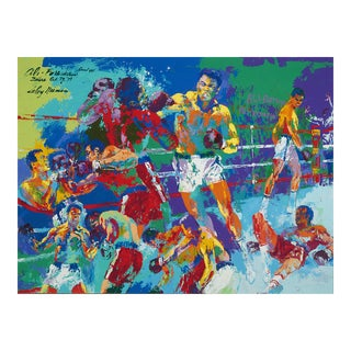 Rumble in the Jungle by LeRoy Neiman