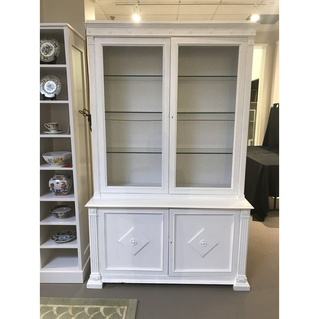 Milling Road White China Cabinet For Sale - Image 13 of 13