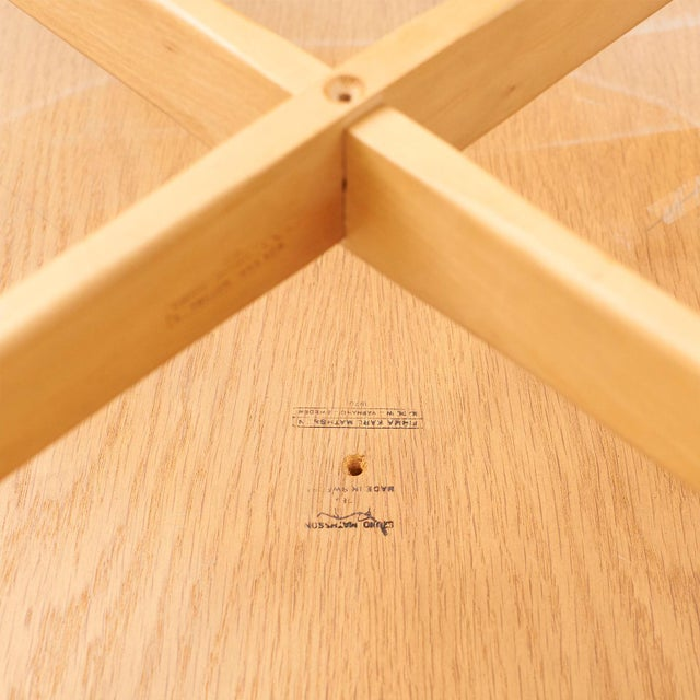Beech Bruno Mathsson table for DUX c1944 For Sale - Image 7 of 7