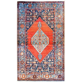 Amazing Early 20th Century Seneh Rug For Sale