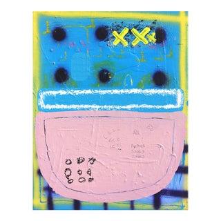 Abstract I Wish I Lived in Your Pocket Original Artwork by Sarah Svetlana For Sale