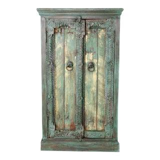 Vintage Painted Side Cabinet