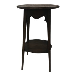 Arts and Crafts Round Side Table From Pioneer Furniture Stores Ltd. For Sale