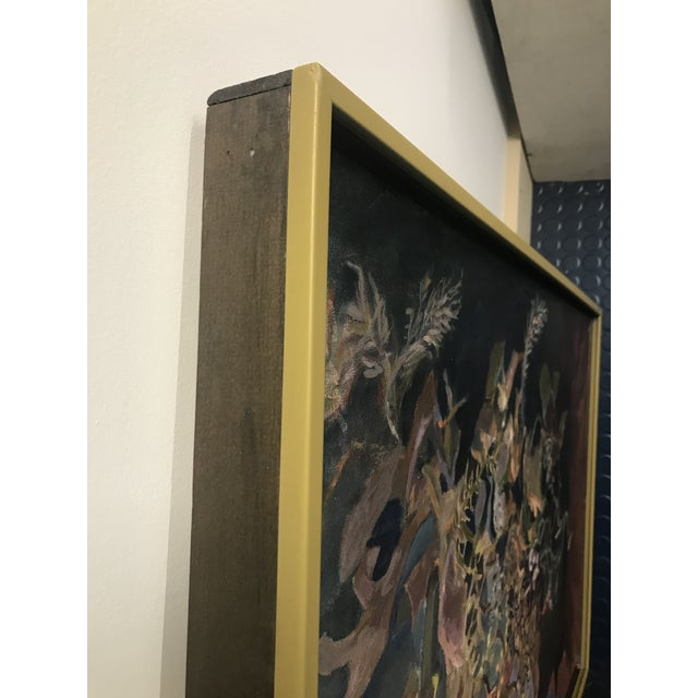 1960s 1969 Oil Painting by Paul Schlafly, Framed For Sale - Image 5 of 7