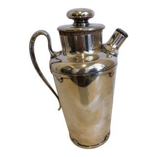 Vintage Wilcox International Silver Co. Martini Shaker For Sale