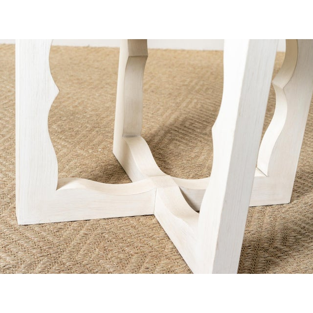 Modern Modern Cyma Reverse Table For Sale - Image 3 of 6