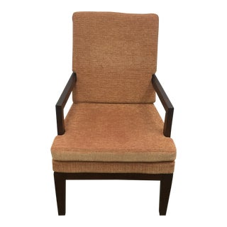 Mid-Century Style Solid Walnut Chair