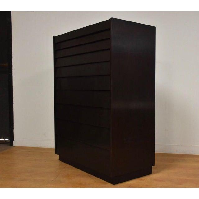 Edward Wormley for Dunbar Ebonized Dresser For Sale In Boston - Image 6 of 11