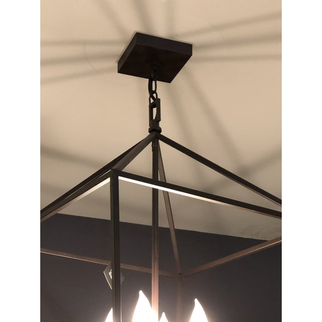 Contemporary Kennith Ludwig Chicago Wendell Lantern For Sale - Image 3 of 7