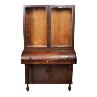 Antique Biedermeier-Style Writing Desk For Sale