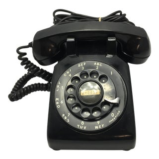 1963 Western Electric Black Desk Telephone