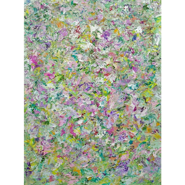 """Garden 2"" Original Abstract Painting - Image 1 of 4"