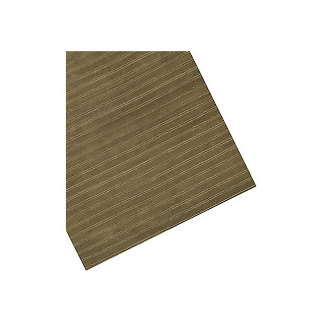 1950s Contemporary Wool Hand Knotted Olive Green Rug - 10' X 13' For Sale - Image 5 of 6