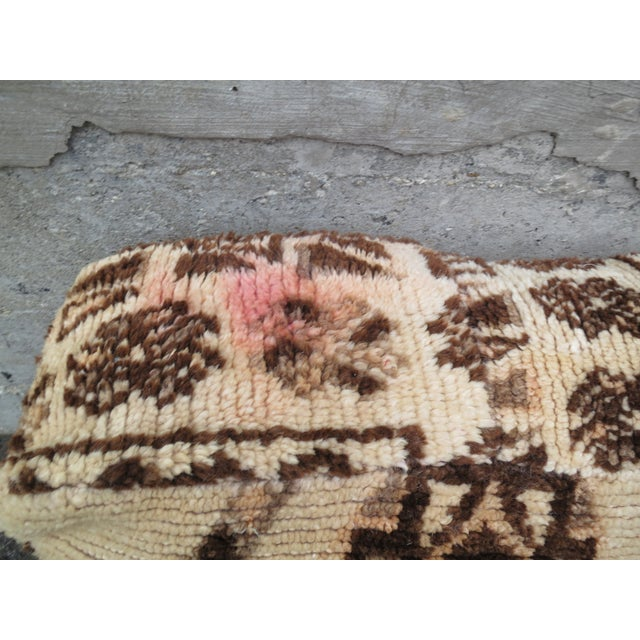 Vintage Moroccan Floor Pillow - Image 3 of 4