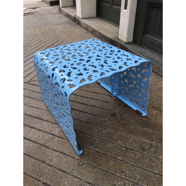 Modern Richard Schultz Topiary Ottoman/ Side Table For Sale - Image 3 of 6