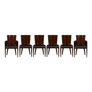 Ralph Lauren Modern Hollywood Dining Chairs - Set of 6 For Sale