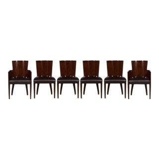 Ralph Lauren Modern Hollywood Dining Chairs - Set of 6