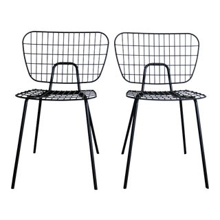 Scandinavian Dining/Side Chairs - Set of 2 For Sale