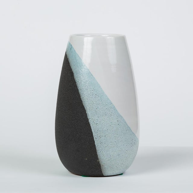 1950s Glazed Ceramic Vase by Ettore Sottsass for Bitossi For Sale - Image 5 of 12