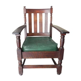 Vintage Charles Limbert Mission Chair For Sale