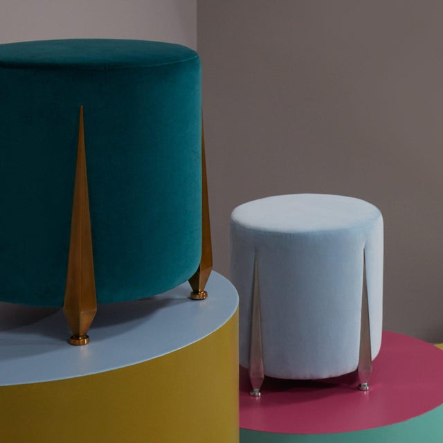 The Iris Stool by Talisman Bespoke For Sale - Image 9 of 10