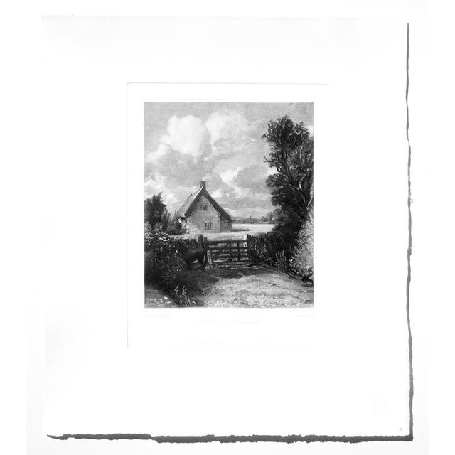 John Constable & David Lucas Mezzotint Collection From the Tate Gallery in London 1990's - Set of 16 For Sale - Image 10 of 14