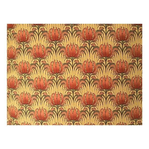 William Morris Floral Pillows, Pair - Image 2 of 3