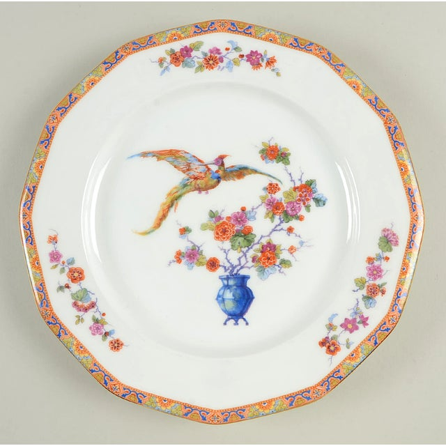 Vintage Mixed Bird Dinner Plates - Set of 8 For Sale In Greensboro - Image 6 of 10
