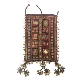 Indian Embroidered Mirrored Shell Tassel Camel Adornment