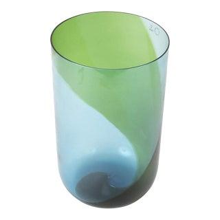 Blown Glass Coreani Vase Designed by Tapio Wirkkala for Venini For Sale