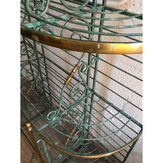 Early 20th Century French Iron and Brass Baker's Rack Preview