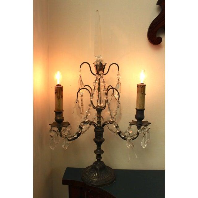 19th Century Italian Girondole Lamps - A Pair - Image 4 of 5